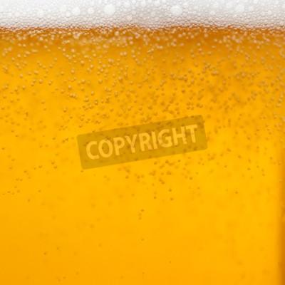 Fotomural Cerca de un vaso de cerveza