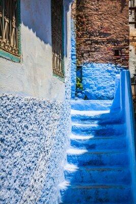 Fotomural Chefchaouen Vieja Medina, Marruecos, África