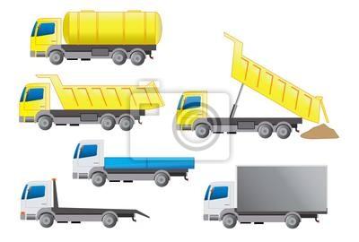 Fotomural Ciężarówka