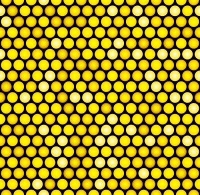 Fotomural Clásico Oro Punteado Seamless Glitter Pattern. Vector