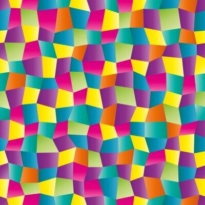 Fotomural Color abstracta patrón geométrico