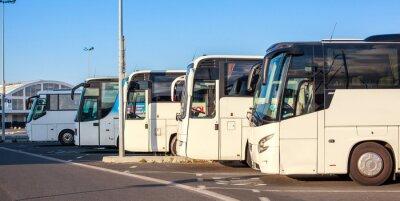 Fotomural Compañía de autobuses
