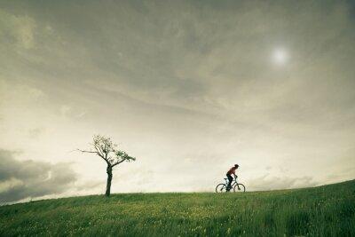 Fotomural Concepto bicicleta