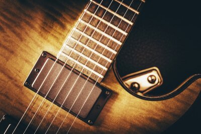 Fotomural Concepto de guitarra eléctrica