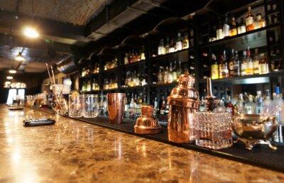 Fotomural Contador clásico bar