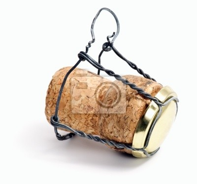 Fotomural corcho del champán