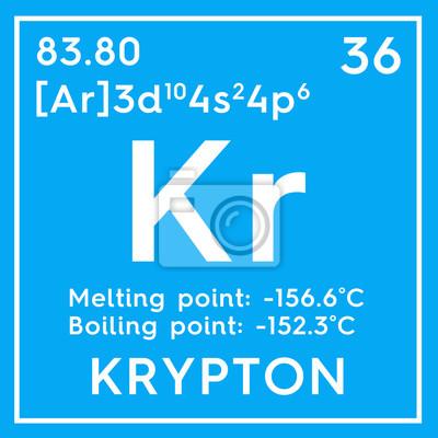 Criptn gases nobles elemento qumico de la tabla peridica gases nobles elemento qumico de la tabla peridica de mendeleev krypton urtaz Image collections