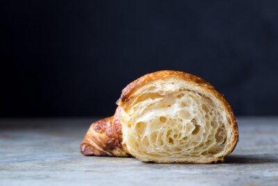 Fotomural Croissants recién horneados