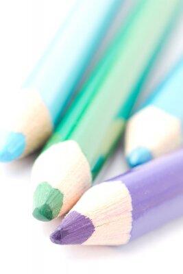 Fotomural Cuatro crayones