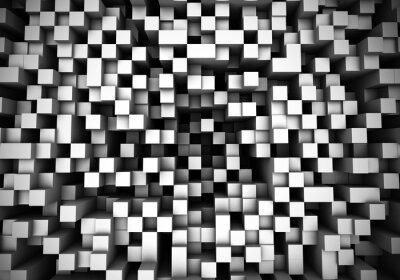 Fotomural Cubo de extrusión