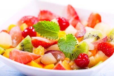 Fotomural Cuenco de ensalada de frutas