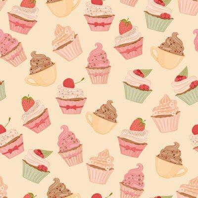 Fotomural Cupcakes