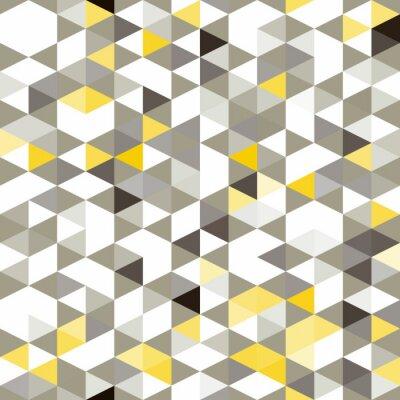 Fotomural de fondo sin fisuras con formas geométricas abstractas