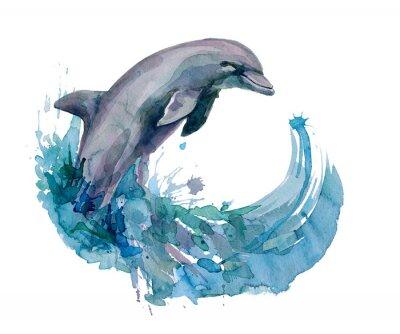 Fotomural delfín