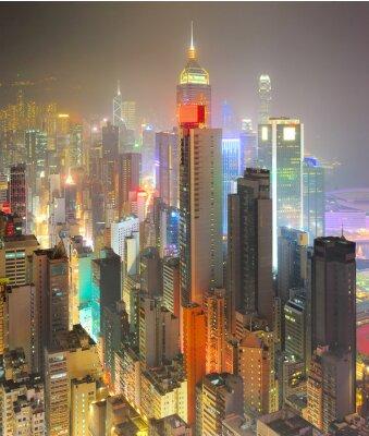 Fotomural Densidad de Hong Kong