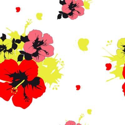 Fotomural Diseño de las flores