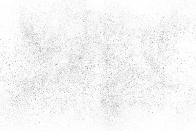 Fotomural Distressed black texture. Dark grainy texture on white background. Dust overlay textured. Grain noise particles. Rusted white effect. Grunge design elements. Vector illustration, EPS 10.