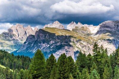 Fotomural Dolomitas Italia - Val Gardena - Passo Sella