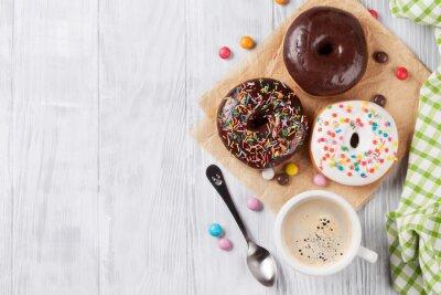 Fotomural Donuts y café