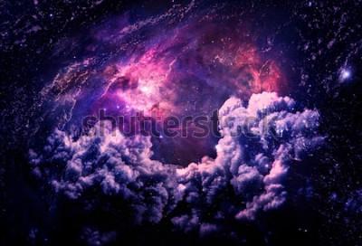 Fotomural Dreamscape Galaxy - Elementos de esta imagen proporcionados por la NASA