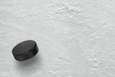 Fotomural Duende malicioso de hockey sobre hielo