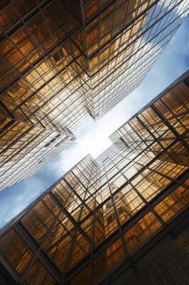 Fotomural Edificios abstractos