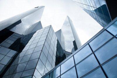 Fotomural Edificios de gran altura - bancos
