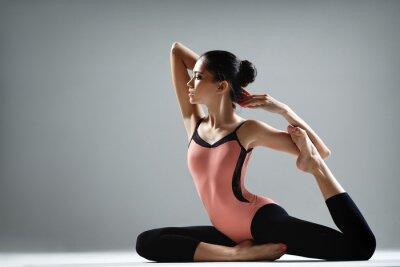 Fotomural ejercicio de yoga