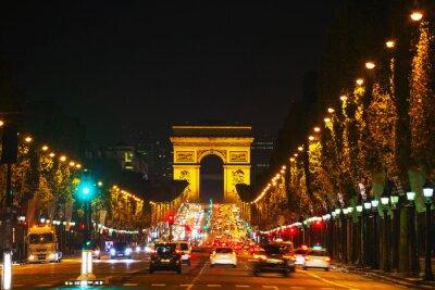 Fotomural El Arco del Triunfo de l'Etoile en París