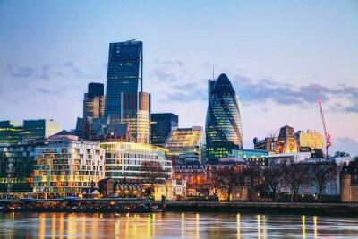 Fotomural El distrito financiero de la City de Londres