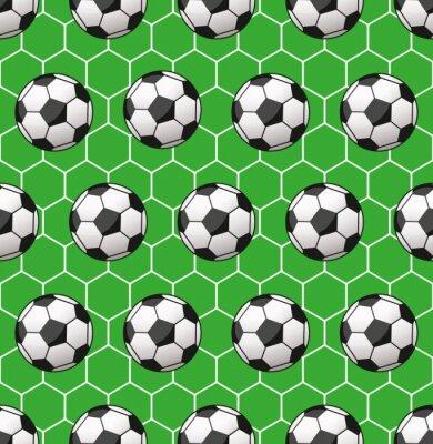 Fotomural el modelo del fútbol sin fisuras