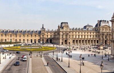Fotomural El Museo del Louvre en París