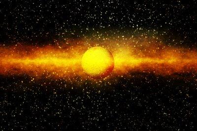 Fotomural El nacimiento de una estrella