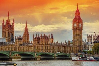 Fotomural El Palacio de Westminster
