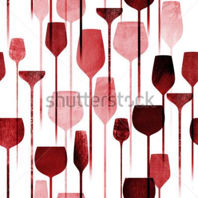 Fotomural El partido de papel texturizado del arte del collage bebe el modelo inconsútil, bebidas coloridas conceptuales del alcohol que repite el fondo para el web y el propósito de la impresión.