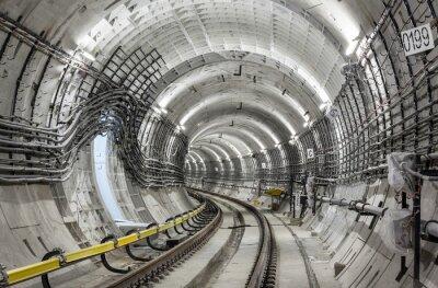 Fotomural El túnel del metro
