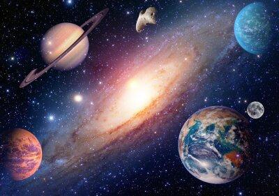 Fotomural Elementos de esta imagen proporcionados por la NASA.