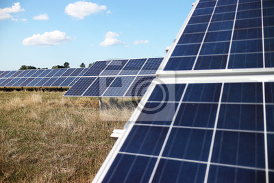 Fotomural Energía solar