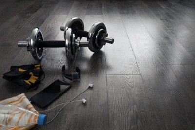 Fotomural Equipos para fitness