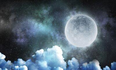 Fotomural Es una luna llena