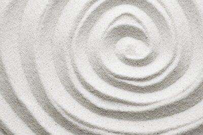 Fotomural Espiral en la arena