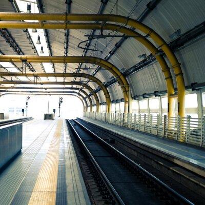 Fotomural Estación de ferrocarril