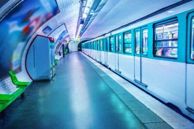 Fotomural Estación de metro en París