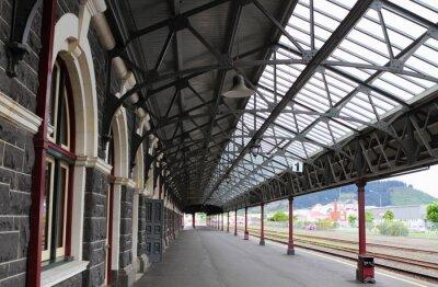 Fotomural Estación de trenes de Dunedin