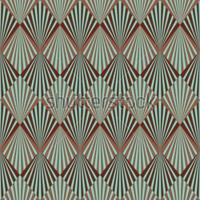 Fotomural Estilo Art Deco textura de patrones sin fisuras