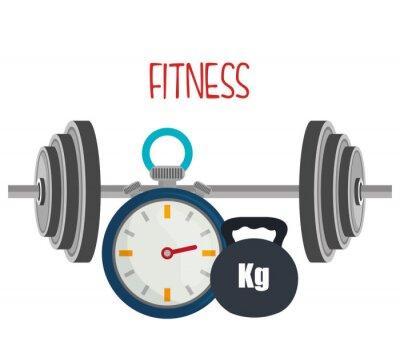 Fotomural Estilo de vida gimnasio y fitness