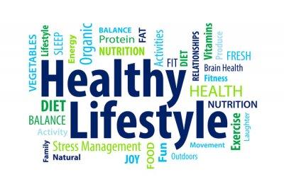Fotomural Estilo de vida saludable