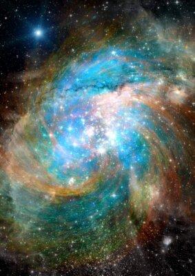 Fotomural Estrellas, nebulosa de polvo y gas