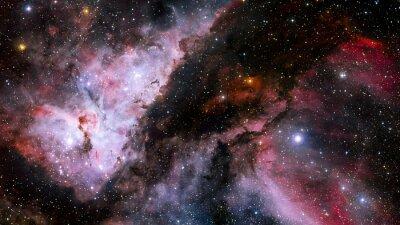 Fotomural Estrellas nebulosa en el espacio. Elementos de esta imagen proporcionados por la NASA