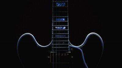 Fotomural Extracto de la guitarra eléctrica